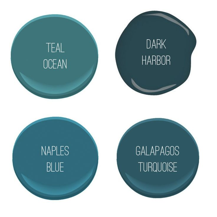 The 25+ Best Teal Paint Colors Ideas On Pinterest