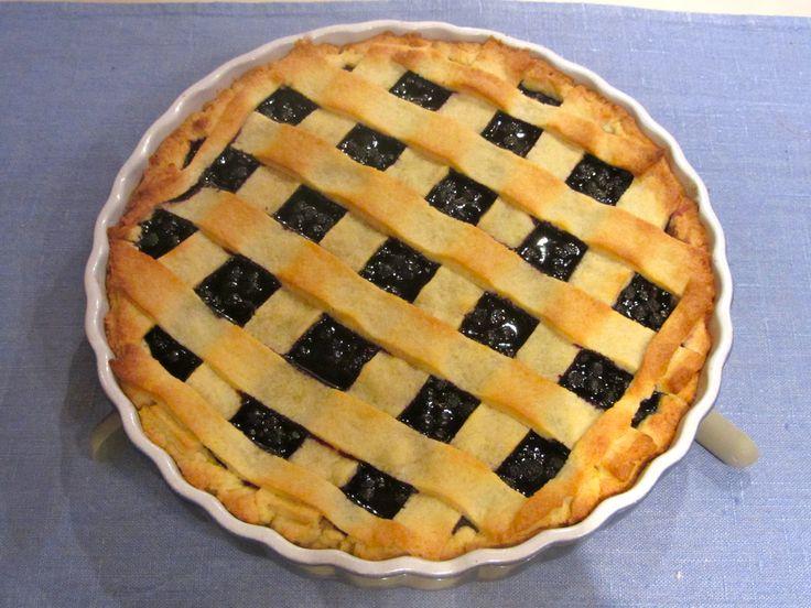 Blåbærpai | A Piece of Cake