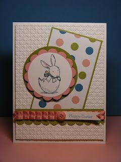Sweet Easter card by Leena Girsa