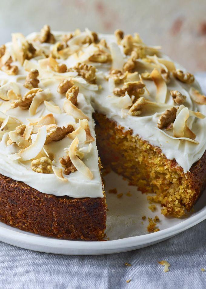 Vegan Carrot Cake Recipe Vegan Carrot Cakes Cake Recipes