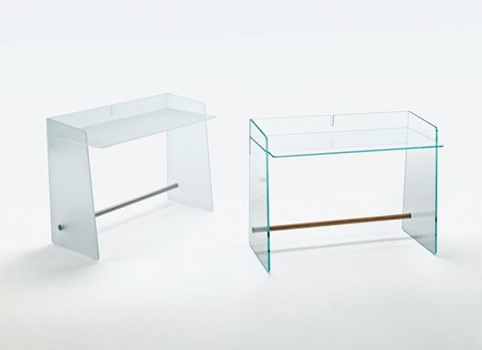 Jasper Morrison Pirandello Desk Pirandello Desk 2012 Glass Desk Produced By  Glas Italia, Italy.