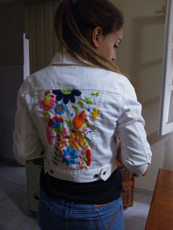 Campera bordada