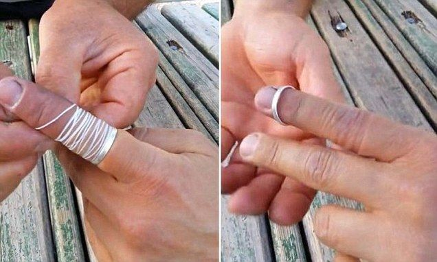 How To Get Stuck Ring Off My Finger