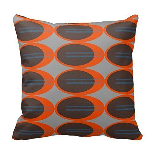 Amazon.com: Home D¨¦cor Retro Pillow Stylish Chic Pillowcases Zippered Pillow Shams 18X18 Inch: Home & Kitchen