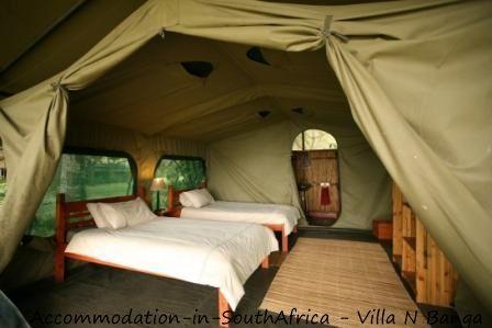 Accommodation at Villa N'Banga. Mozambique accommodation.