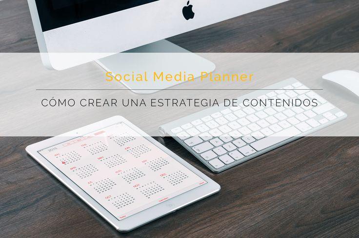 Descárgate el social media planner - Comunique Studio