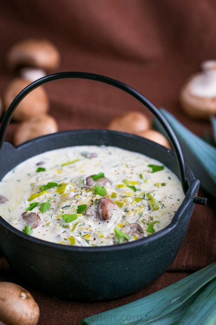 Creamy Mushroom and Leek Pasta Sauce Recipe (With images