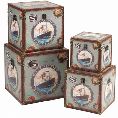 Custom Decorative Gift Boxes Add accent and vintage item with this Custom Decorative Gift Boxes, it's set of 4 design, you can use them in group or alone, these nesting boxes are quite convenient for daily storage and organization Kingdeful Arts & Crafts Co.,Ltd.