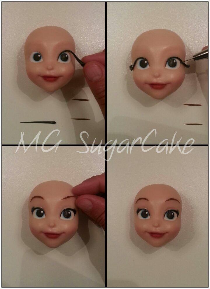 MG Sugarcake Princess Sofia face 6