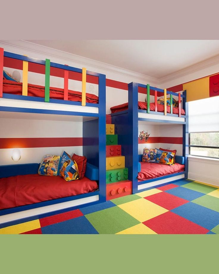 Kids Lego Bedroom: 365 Best Kids Rooms/murals Images On Pinterest