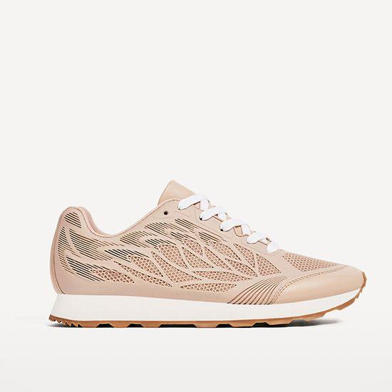 Tennis en cuir synthétique - 15 chaussures pour le printemps