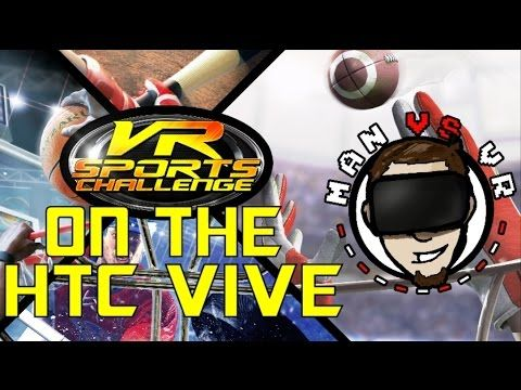 Revive Allows The HTC Vive To Play VR Sports Challenge! Its so Much Fun