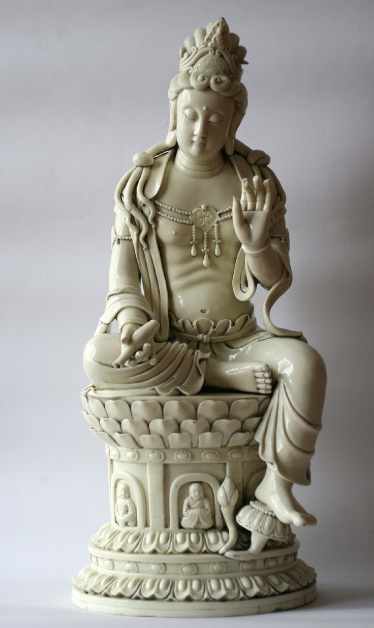 QuanYin Blanc De Chine - Ming Dynasty