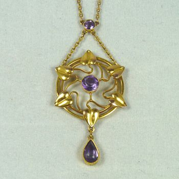 Four Liberty & Co Art Nouveau Jewellery Items by Archibald Knox and Jessie King | Collectors Weekly