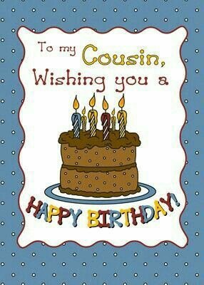 The 25 Best Happy Birthday Cousin Ideas On Pinterest Amazing Happy Birthday Wishes To My Cousin