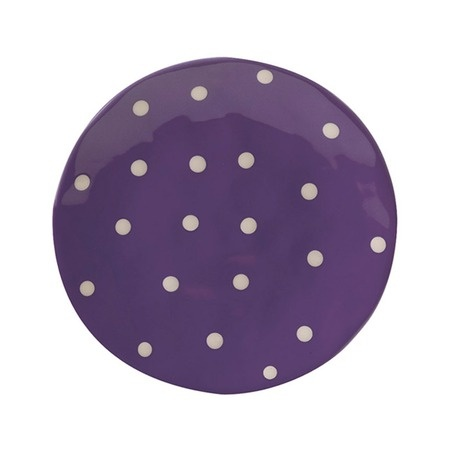 """I pinned this Sprinkle 8"""" Side Plate in Purple from the Maxwell & Williams event at Joss and Main!"""