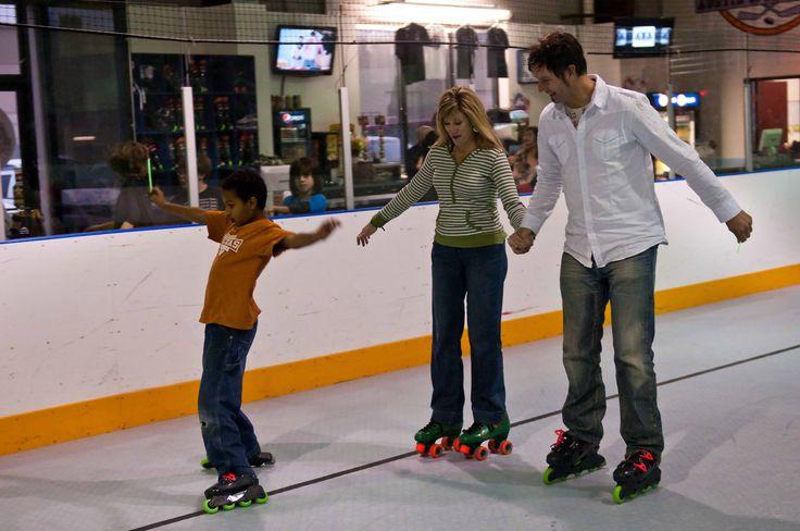 Home School Family Skating