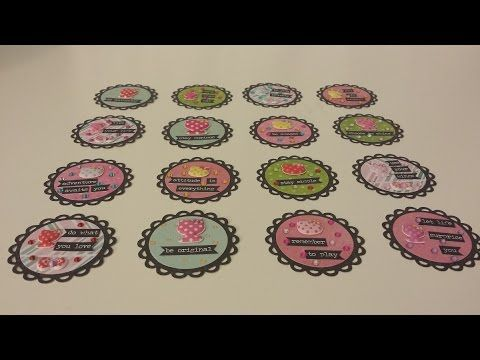 My Paper Embellishments available on my Etsy store…