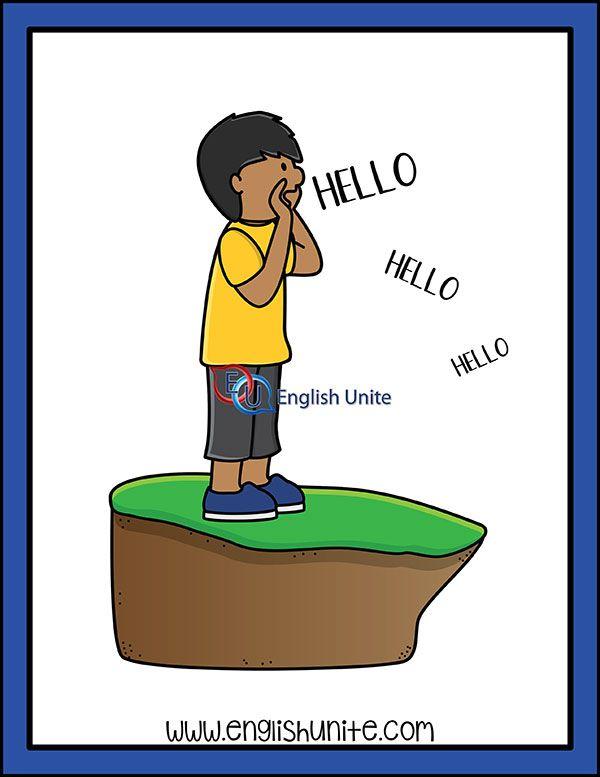 K As Ch Echo English Unite Clip Art Kids Clipart Teacher Clipart