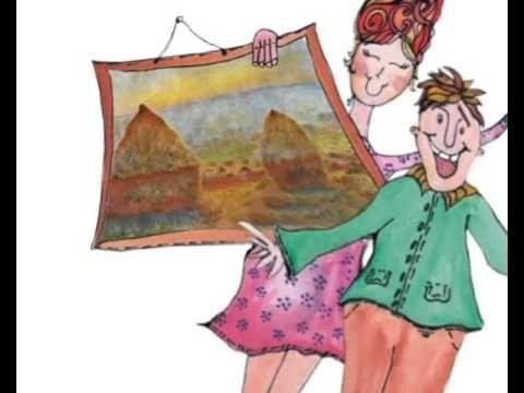 La vida de Kandinsky relatada para niños.