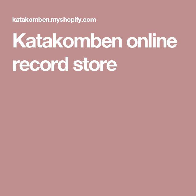 Katakomben online record store