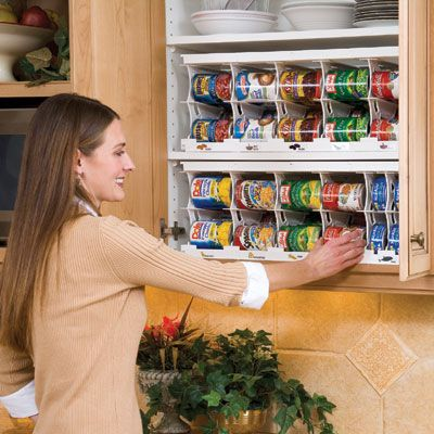 RV Organization and Storage | Cansolidator Pantry (40 Can) - Sporty's Tool Shop