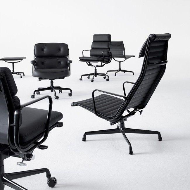 Charles Eames Vitra Bureaustoel.Vitra Bureaustoel Aluminium Chair Ea 119 Stof Door Charles Ray