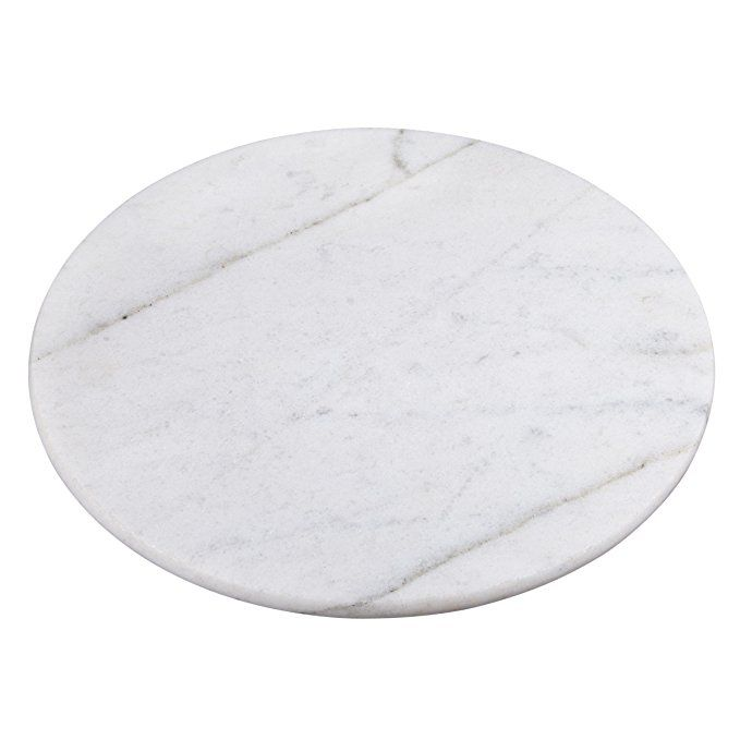 Creative Home Marble Lazy Susan Table Decor 12 White Made Of Genuine Natural White Marble Heavy Weight M Creative Home Marble Lazy Susan White Desk Decor
