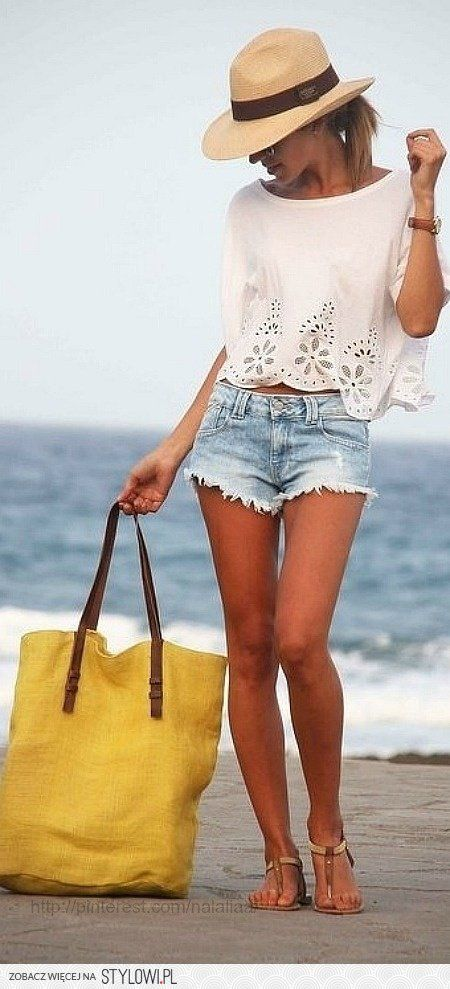 Summer style … absolutely love this look. perfect for a… na Stylowi.pl