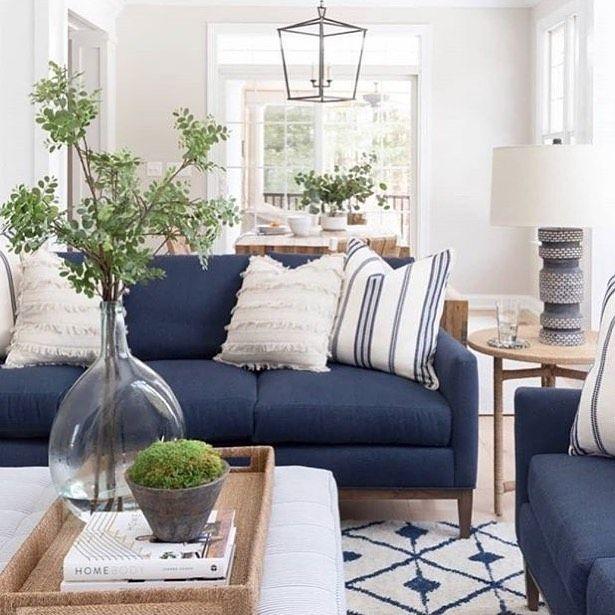 Twuss Suffolk Home Lifestyle Blogger Blue Couch Living Room Blue Sofas Living Room Blue Living Room Decor