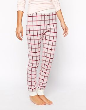 Enlarge Jack Wills Jersey Leggings With Vintage White Check