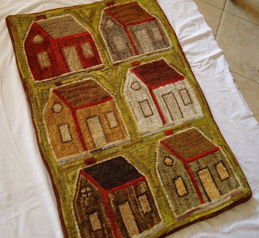 Washable Primitive Rugs: 927 Best Images About Primitive Hooked Rugs On Pinterest