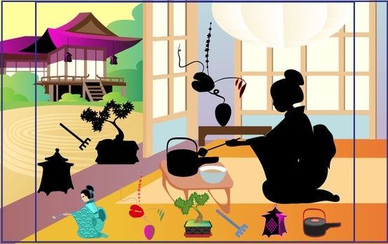 Wee Kids Stickers  #kids #app #colorful #education #ichildren #kid #kids #preschool #book #Japan #geisha #tea #pagoda  #ipad #iphone #android #iOS #Windows