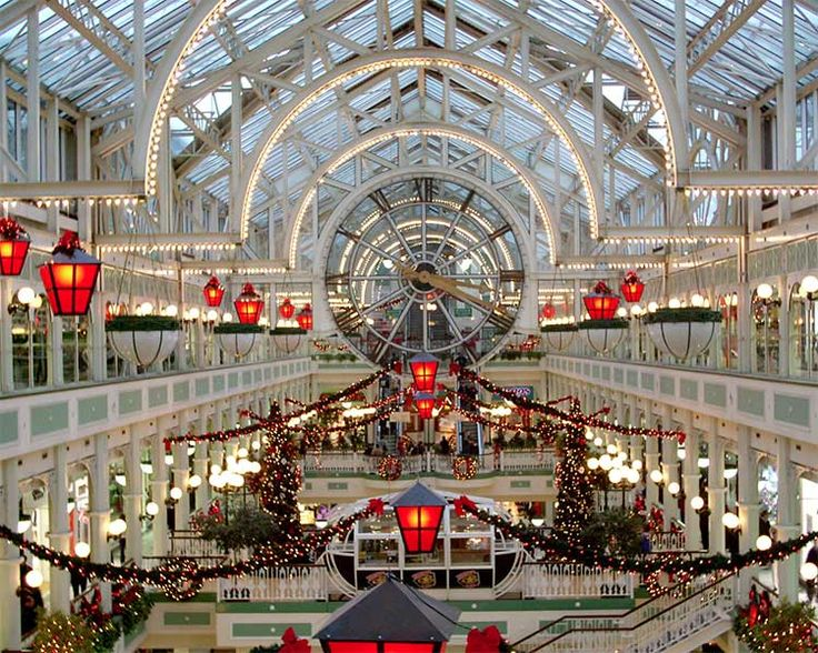 DECK THE HOLIDAY'S: CHRISTMAS IN IRELAND - one day we will spend Christmas in Ireland!