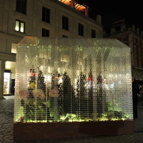 Lego greenhouse.
