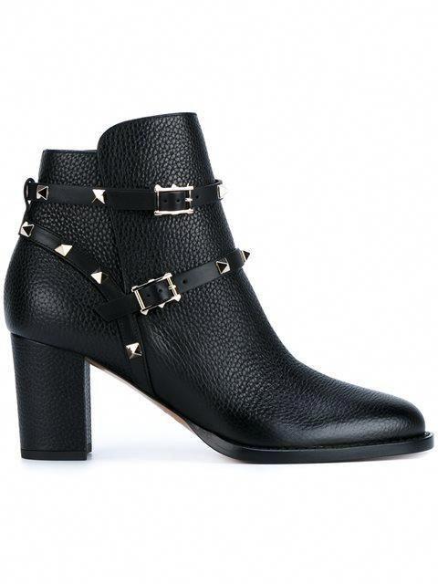 bafb982770cb VALENTINO Valentino Garavani  Rockstud  ankle boots.  valentino  shoes   boots