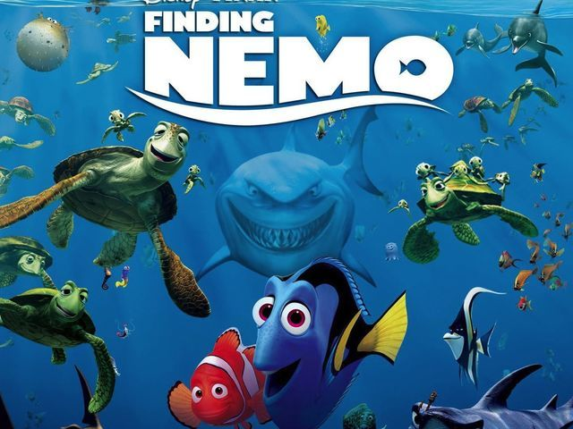 What color does the little girl from Finding Nemo, Darla Sherman always wear?