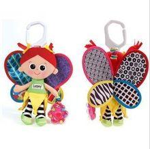 Brinquedos para crianças Boneca Princesa da borboleta berço pendurado brinquedos com bell & goma 5 pcs muito KB1046(China (Mainland))
