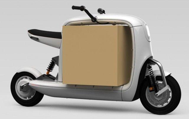Cargo Scooter - Le scoot de livreur