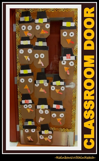 Preschool Thanksgiving Classroom Decorations ~ Best ideas about thanksgiving classroom door on