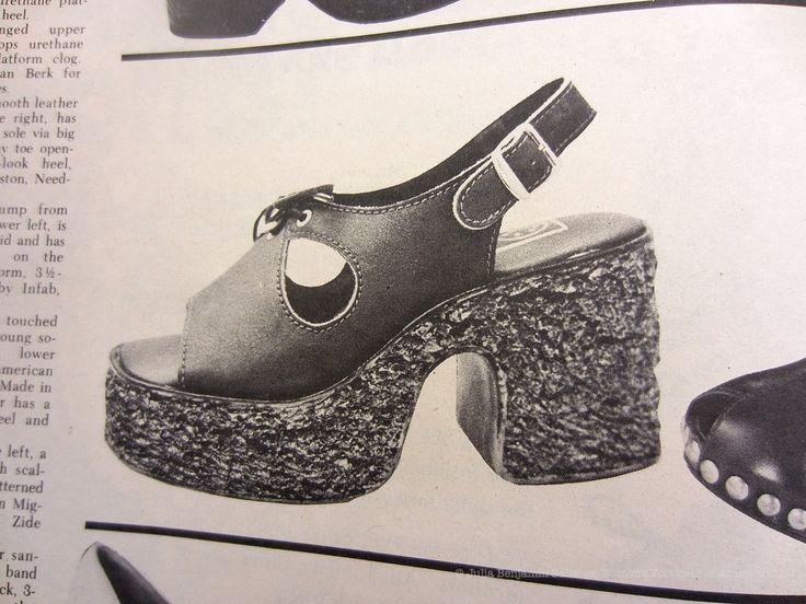 Platform Shoe Footwear News, August 3, 1972. http://womensfootwearinamerica.com/2014/11/21/spring-shoe-styles-1973/