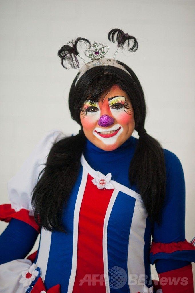 エルサルバドルの首都サンサルバドル(San Salvador)で開催されたラテンアメリカのピエロの祭りに参加したコスタリカのピエロ(2014年5月20日撮影)。(c)AFP/Jose CABEZAS ▼25May2014AFP|エルサルバドルにピエロ大集合 http://www.afpbb.com/articles/-/3015710 #San_Salvador #Clown #Payaso #Pagliaccio #Klaun #Palhaco #Palyaco #Bufon #Badut #Klovn #Klovni #Bohoc