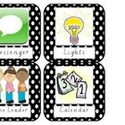 16 Class helper chart labels. Colourful labels for your classroom helpers chart. 16 labels over 4 pages. ...