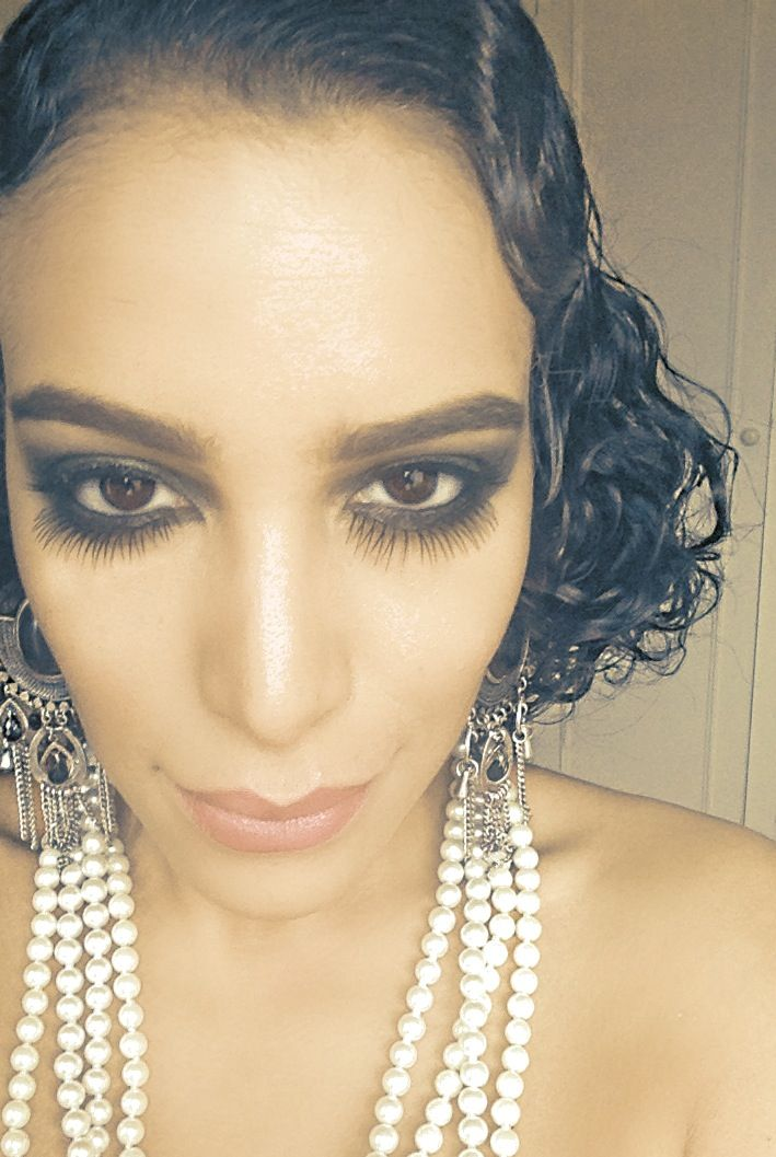 Eye Makeup different eye makeup styles : 1920s hair and makeup : My dirty 30 in July : Pinterest ...