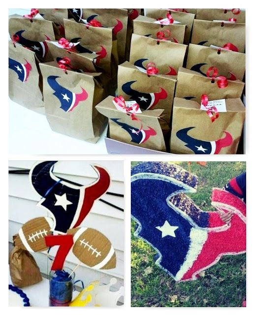 BEAUTIFIED CREATIONS Houston Texans Birthday Party