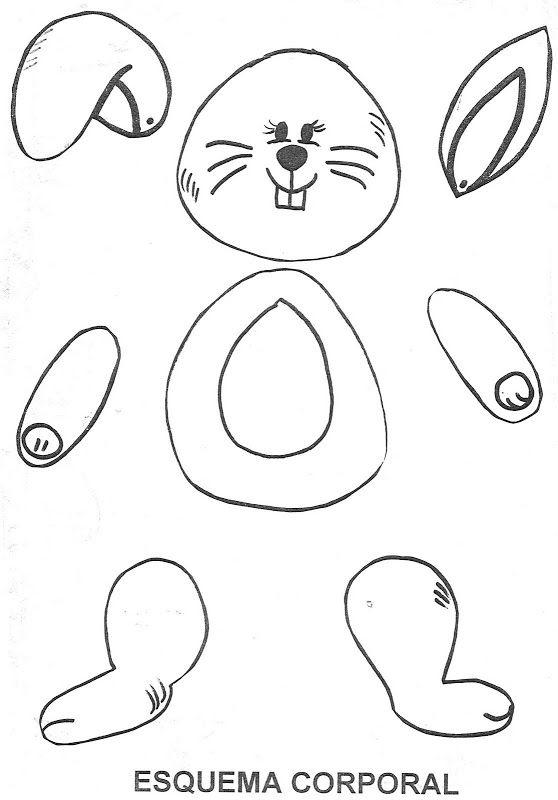 conejo | Conejos | Pinterest | Pascua, Conejos y Manualidades