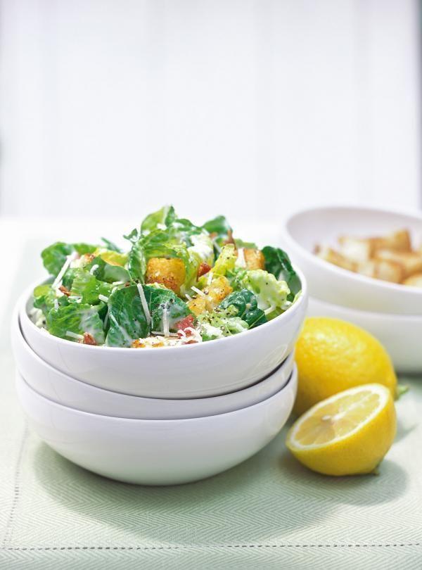 Recette de Ricardo : Salade César