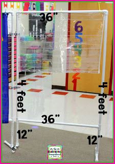 A Kindergarten Smorgasboard DIY 3 Sided Pocket Chart Stand