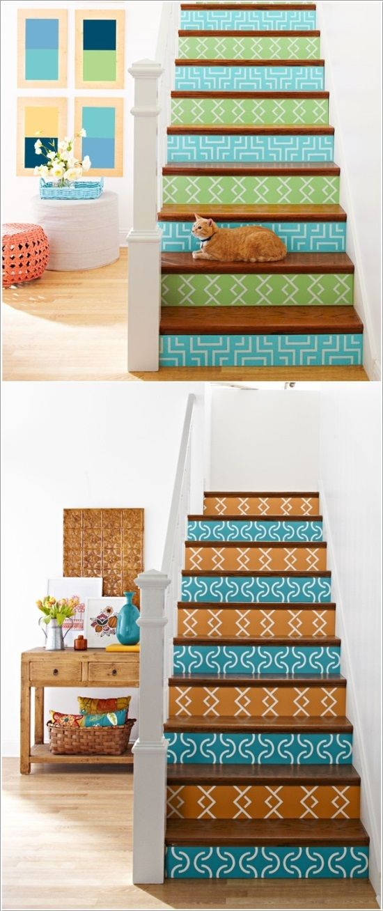 Creative Ideas For Painting Staircase | Ultimate Home Ideas