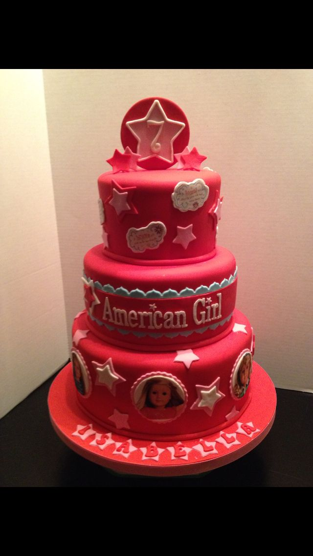 Isabella s American Girl Cake @Melanie Bauer Gallace made ...